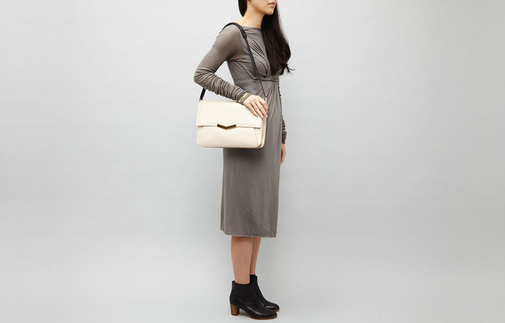 Affine Shoulder Bag - Bone