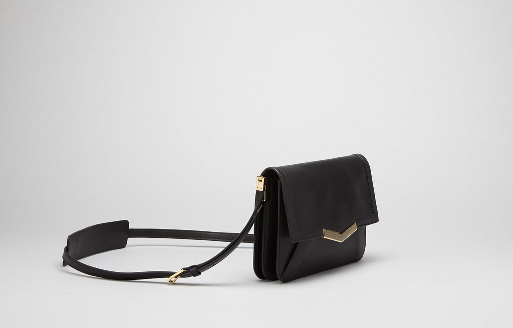 Affine Small Shoulder Bag - Black