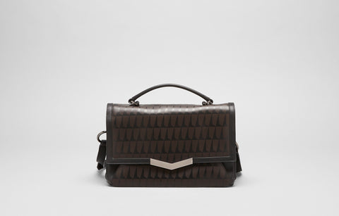 HELENE SHOULDER BAG - TOBACCO