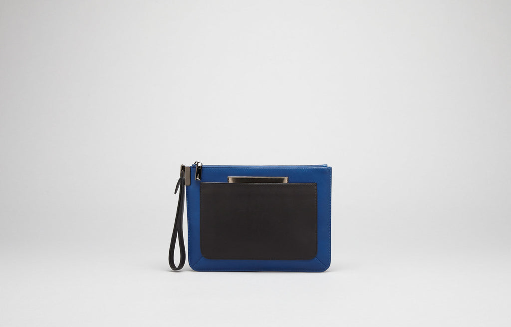 ISHI SMALL WRISTLET - PARIS BLUE