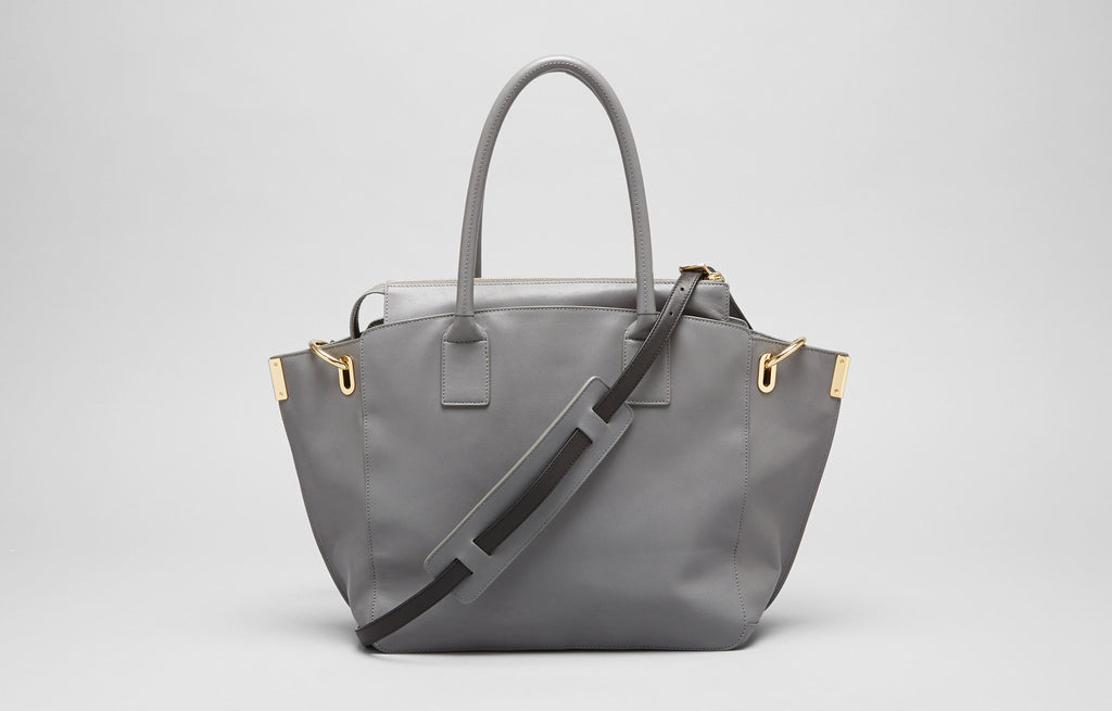 MEDIUM JO TOTE - SMOKE