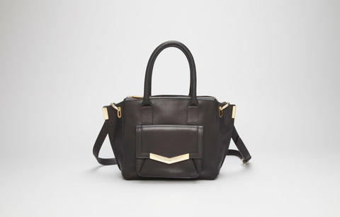 MINI JO TOTE - BLACK