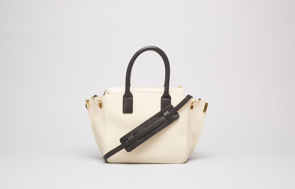MINI JO TOTE - BONE
