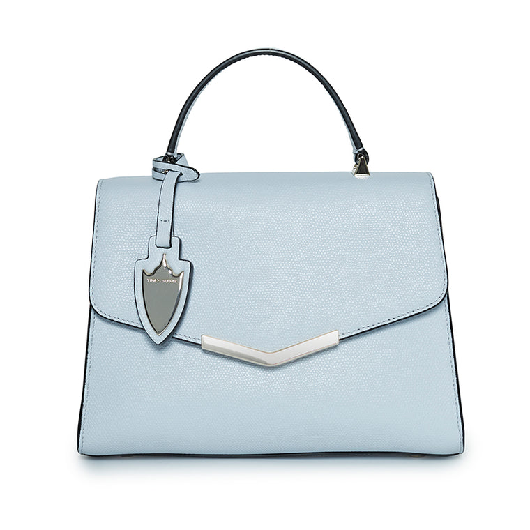 Ava Medium Satchel Cloud