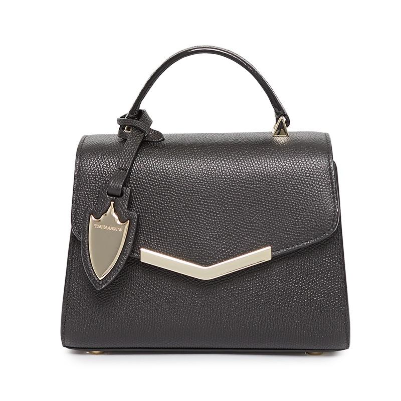 Ava Mini Satchel in Bowery Black