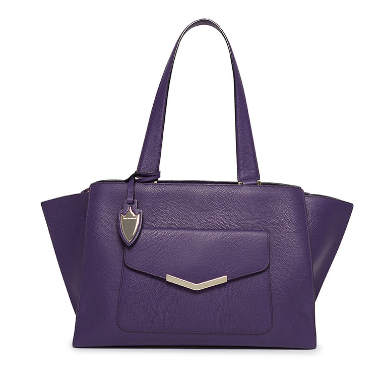Chloe Tote in Purple