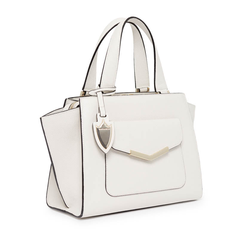Chloe Mini Tote in Socialite White
