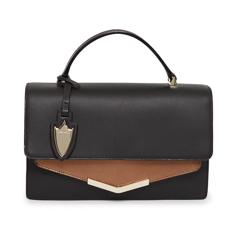 Madison Crossbody in Bowery Black/Malibu Bronze