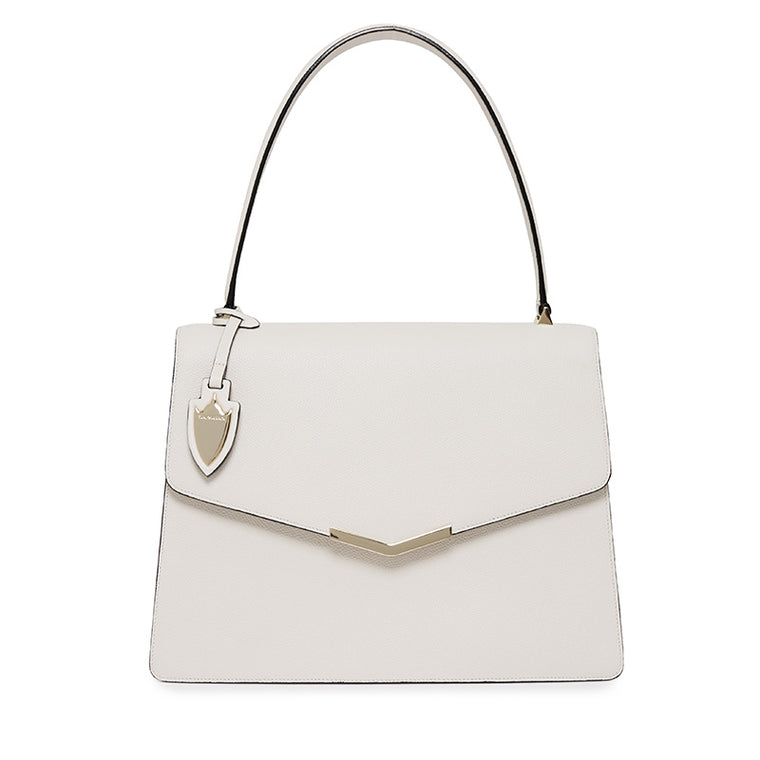Isabel Shoulder Bag in Socialite White