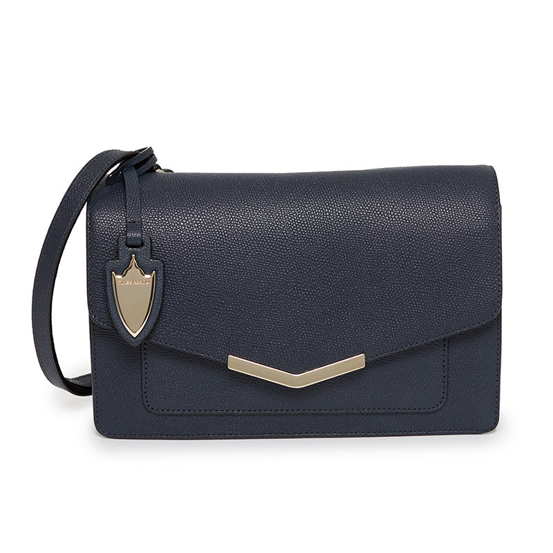 Lily Shoulder Bag in Navy