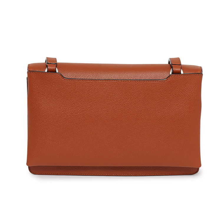 Lily Shoulder Bag in Rodeo Rust