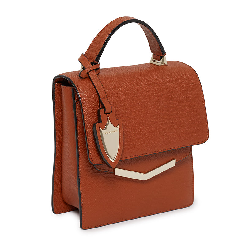 Mia Crossbody in Rodeo Rust