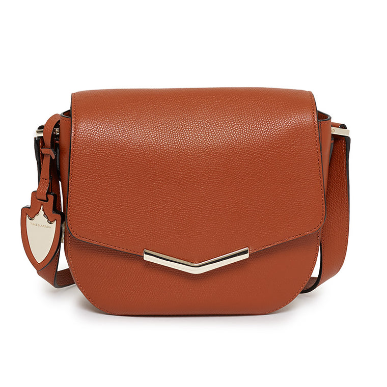 Skyler Saddle Bag in Rodeo Rust