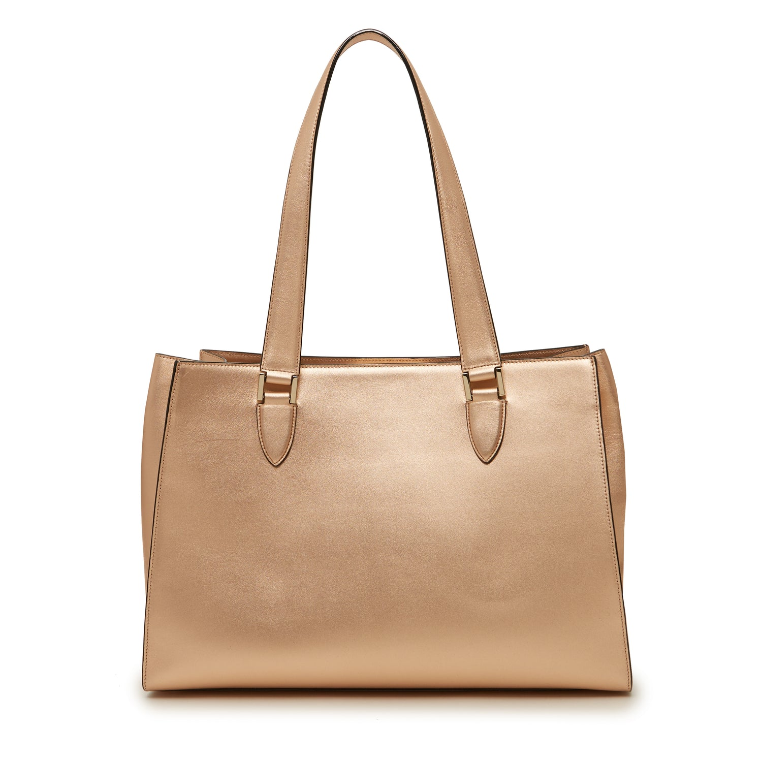 Tyler Tote in Rose Gold