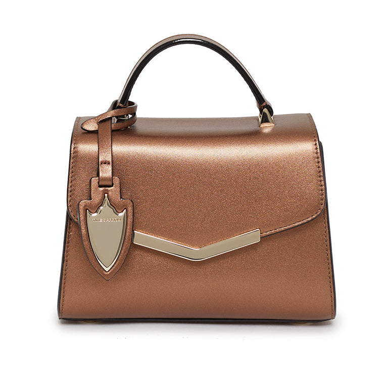Ava Mini Satchel in Malibu Bronze