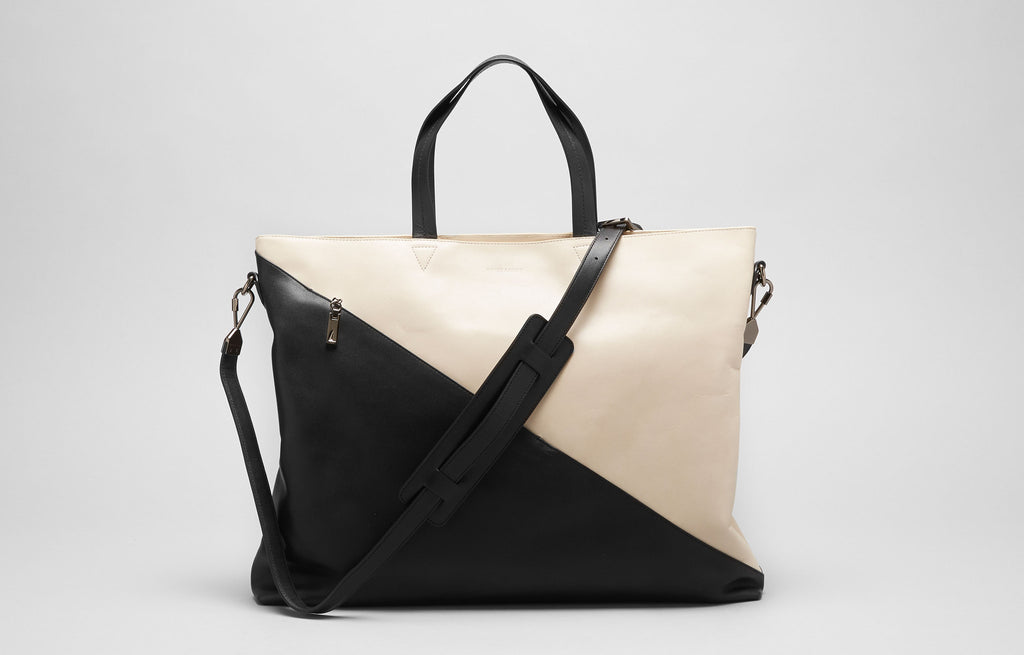 Infinite Satchel - Bone/Black