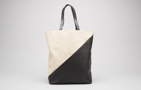 Infinite Tote - Bone/Black