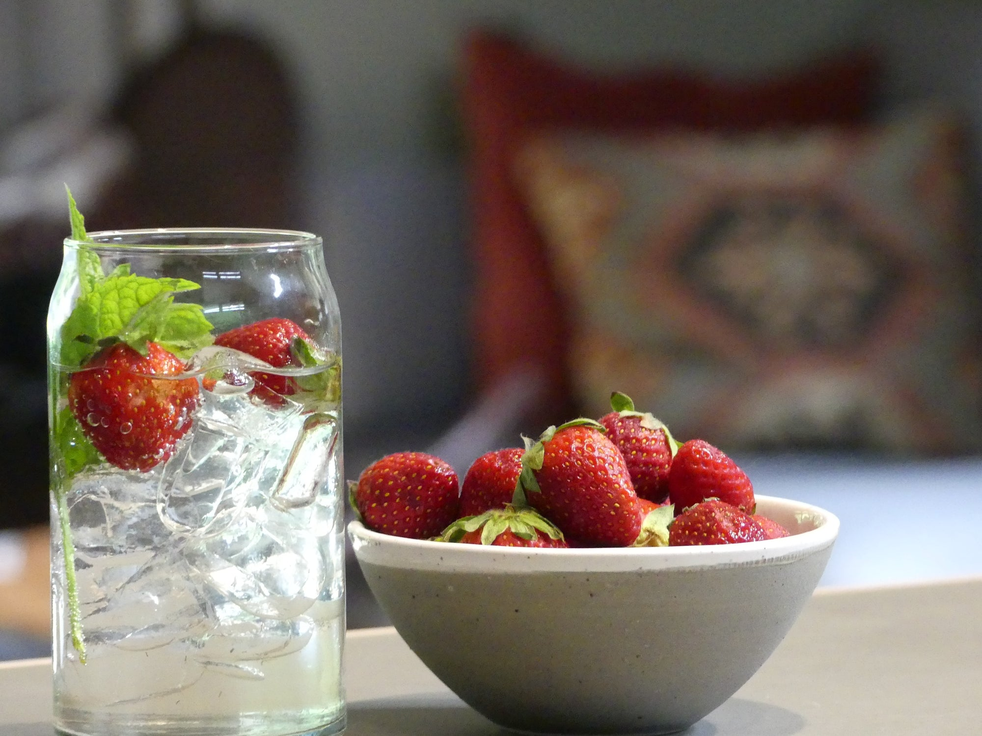 Stay Refreshed with Fruit Infused Water