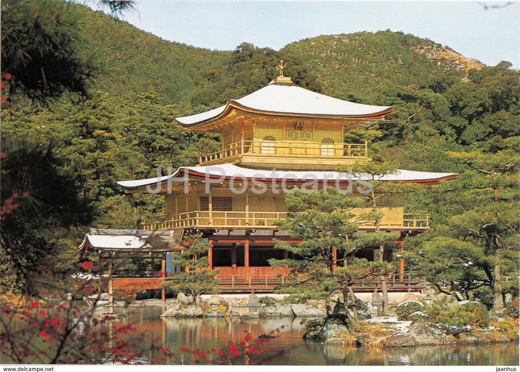 Kyoto - Kinkakuji Temple - Japan - unused - JH Postcards