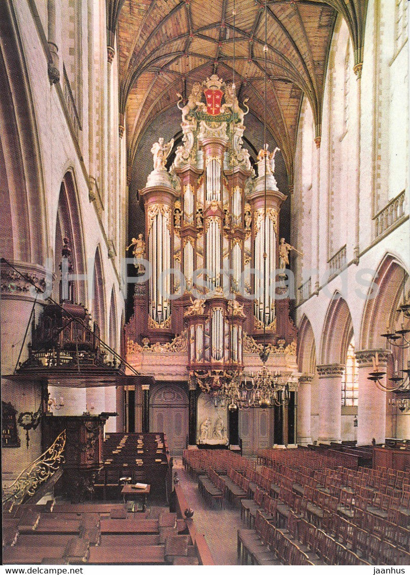 Haarlem - Grote of St Bavokerk - church - Netherlands - unused - JH Postcards