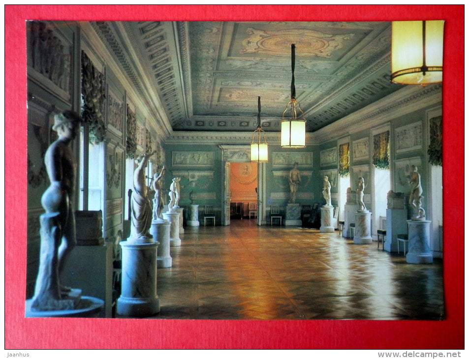 The Room for the Knights of Malta - The Pavlovsk Palace - Pavlovsk - 1985 - Russia USSR - unused - JH Postcards