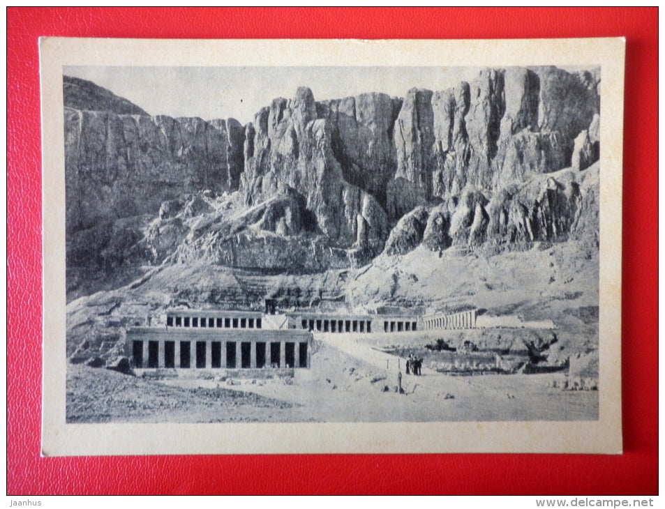 Temple of Hatshepsut 1 , 1520-1500 BC - Egypt - Architecture of Ancient East - 1964 - Russia USSR - unused - JH Postcards
