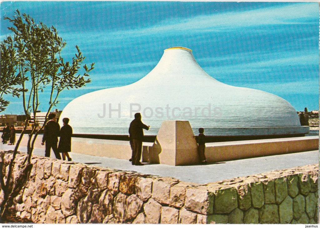 Jerusalem - The Israel Museum - The Shrine of the Book - 7044 - 1966 - Israel - used - JH Postcards