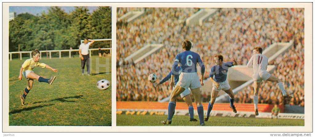 Football - Olympic Venues - 1978 - Russia USSR - unused - JH Postcards
