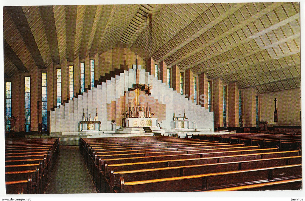 Cork - Christ The King Church - P47331 - 1970 - Ireland - used - JH Postcards