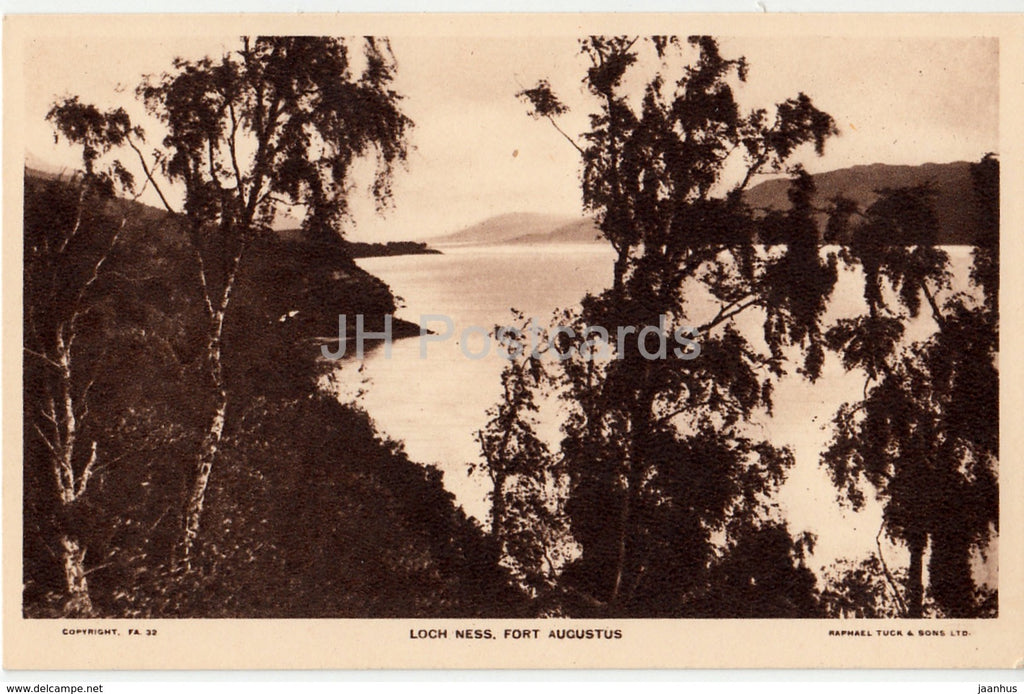 Fort Augustus - Loch Ness - 1970 - United Kingdom - Scotland - used - JH Postcards