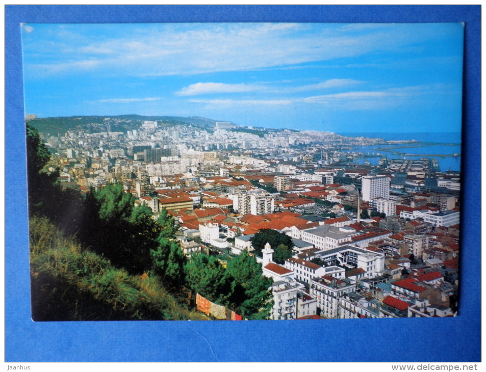 General View of the City - Algiers - Algeria - unused - JH Postcards