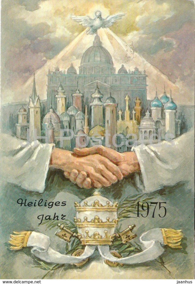 Heiliges Jahr 1975 - Holy Year 1975 - Vatican - 1975 - unused - JH Postcards