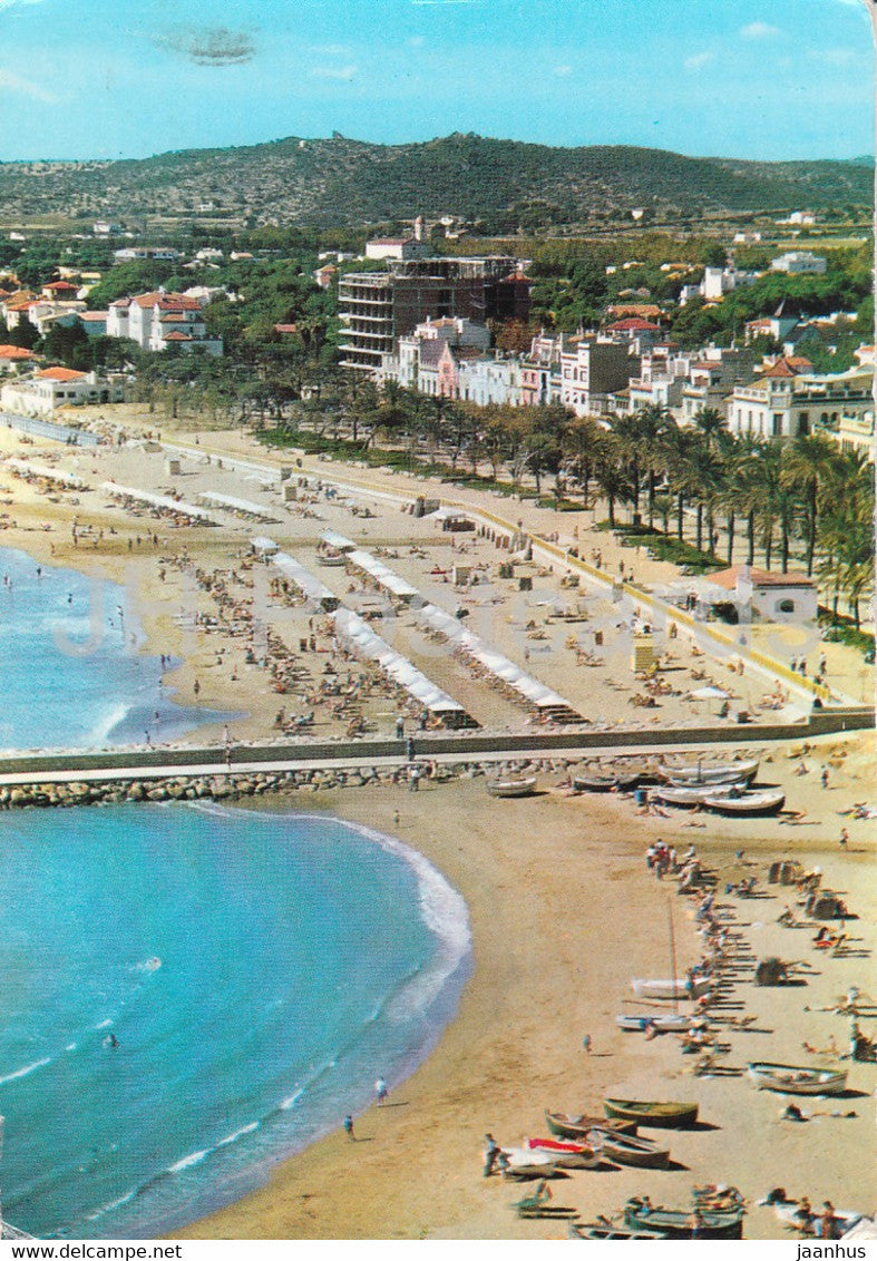 Sitges - Playa de Oro - Golden Beach - 58 - Spain - used - JH Postcards