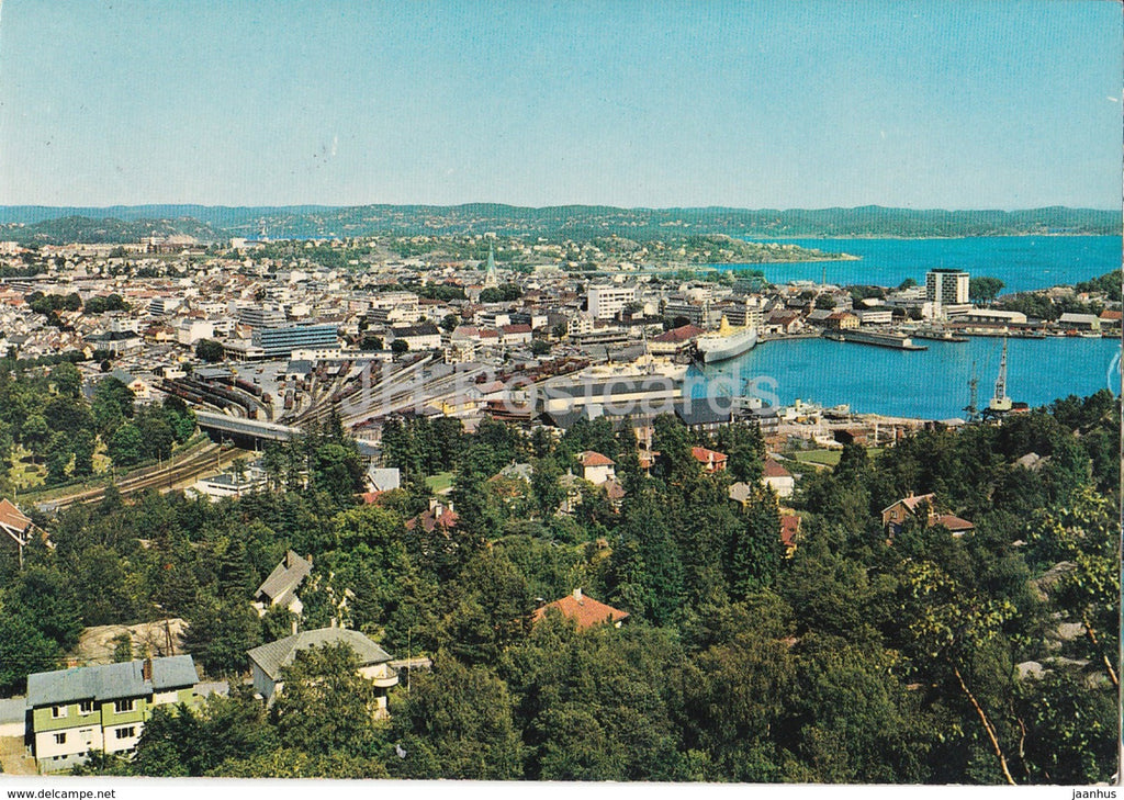 Kristiansand S. - Norway - used - JH Postcards