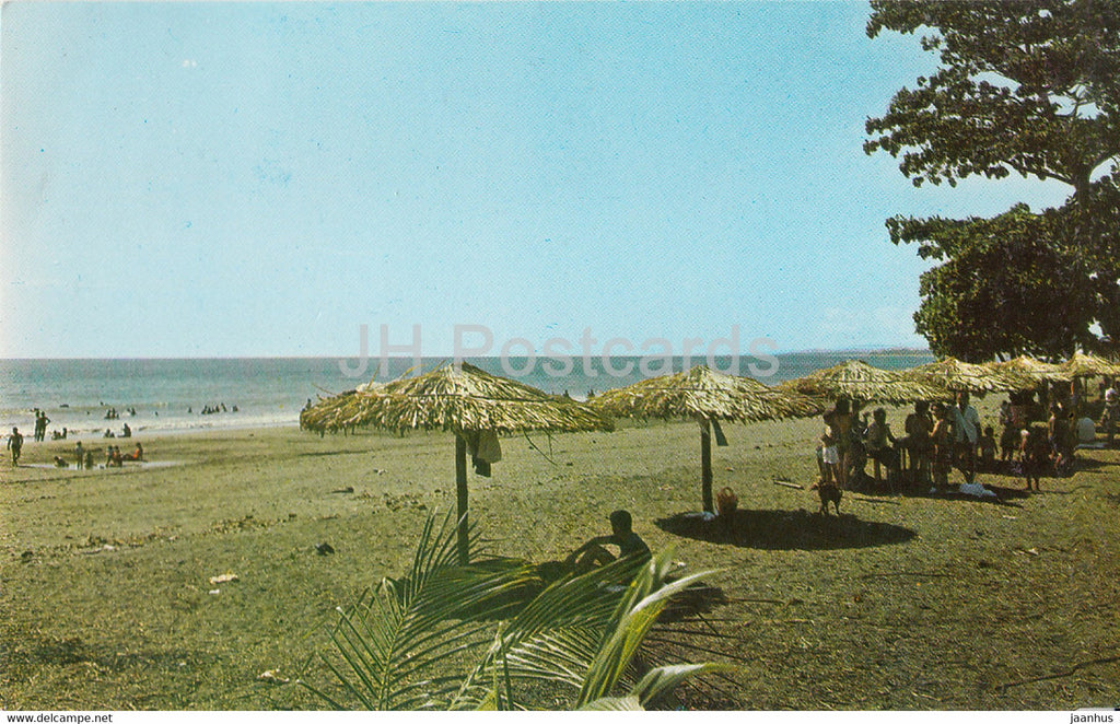 Playas El Cocal - beach - 1982 - Costa Rica - used - JH Postcards