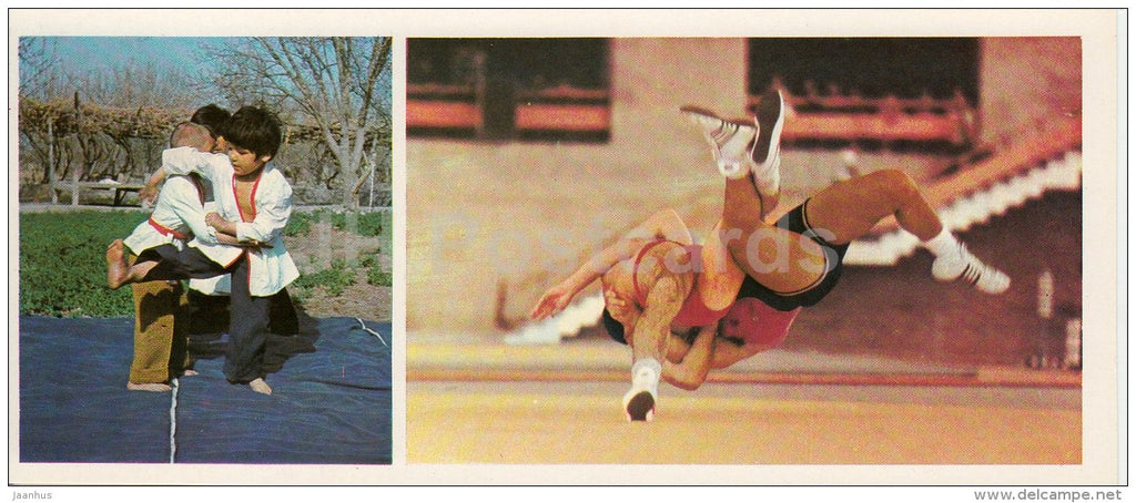 Wrestling - judo - Olympic Venues - 1978 - Russia USSR - unused - JH Postcards