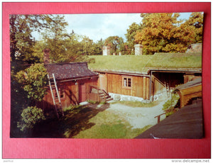 The Handicraft Museum at Luostarinmäki - national costumes - Finland - sent from Finland Turku to Estonia USSR 1975 - JH Postcards
