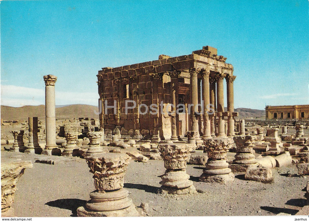 Palmyra - Temple of Baal - Shamin - ancient world - ruins - archaeology - Syria - used - JH Postcards