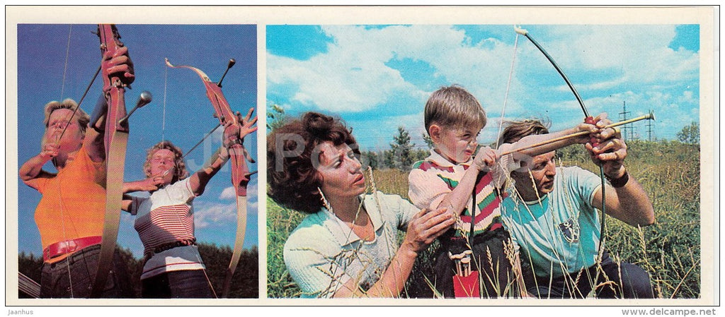 Archery - Olympic Venues - 1978 - Russia USSR - unused - JH Postcards