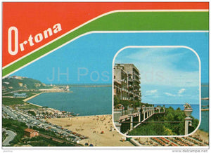 Chieti - beach - Ortona - Abruzzo - 44 - Italia - Italy - unused - JH Postcards