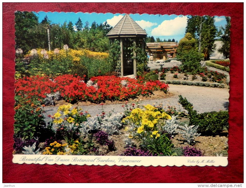 Van Dusen Botanical Gardens - Sasquatch - Bigfoot -Vancouver - British Columbia - Canada - unused - JH Postcards