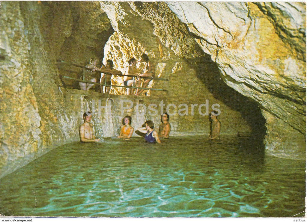 Miskolctapolca - Barlangfurdo - Bath in the Cave - Hungary - used - JH Postcards