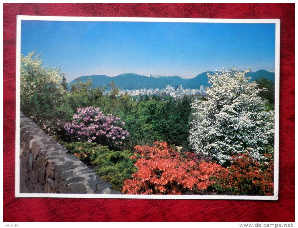 British Columbia`s Dogwood - City view - Vancouver - Canada - unused - JH Postcards