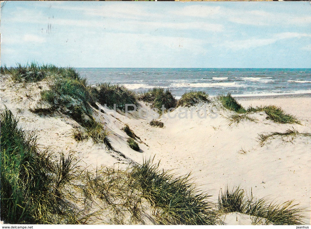 Vesterhavet - North Sea - Nordsee - Denmark - used - JH Postcards