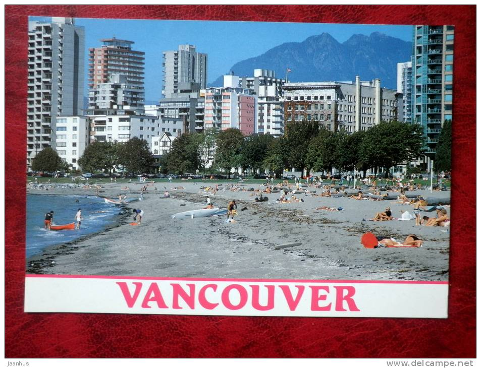 English Bay - Vancouver - British Columbia - 1983 - Canada - used - JH Postcards