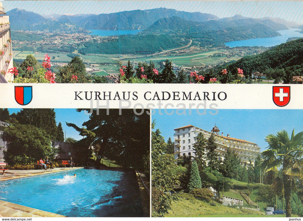 Kurhaus Cademario - Casa di Cura - 9419 - 1981 - Switzerland - used - JH Postcards