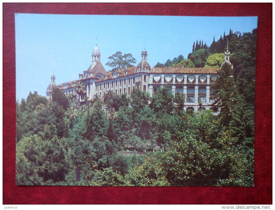 Lenin Sanatorium - Gulripsh - Abkhazia - 1983 - Georgia USSR - unused - JH Postcards