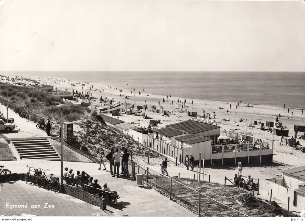 Egmond aan Zee - beach - 1973 - Netherlands - used - JH Postcards