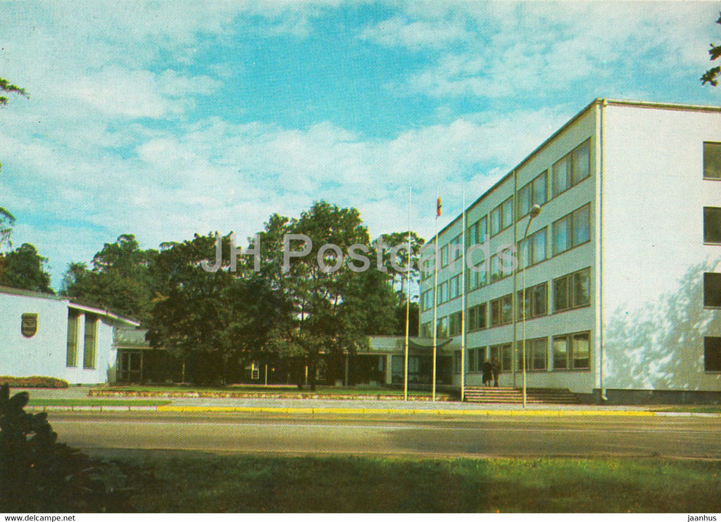 Jurmala - Executive Committee of People's Deputy Soviets at Majori - 1986 - Latvia USSR - unused - JH Postcards