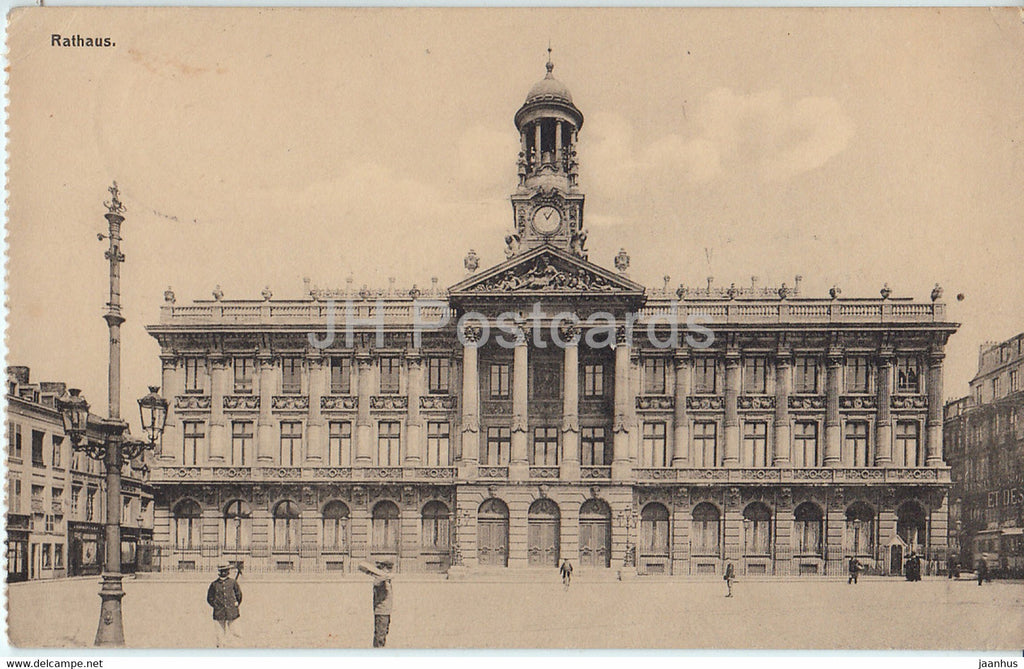 Cambrai - Rathaus - Feldpost - old postcard - 1917 - France - used - JH Postcards